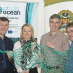 NO REPRO FEE: At the Circular Ocean Workshop at Vertigo, Cork County Hall were (left to right): Sean O'Sullivan, South Cork Local Enterprise Office, Michelle Green, Macroom-E, Laurent Bontoux, EU Policy Lab and Martin Charter, Centre for Sustainable Design, UK.  Picture: Martin Walsh.